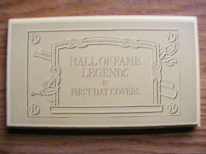 "FS: Major League Baseball ""Hall Of Fame Legends in 1st Day Cover London Ontario image 1"