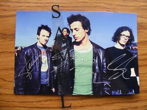 FS: Our Lady Peace (Rock N Roll Band) Autographed 4x6 Photos London Ontario image 2