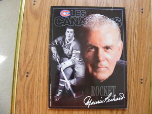 "FS: 1993-94 ""Le Canadiens"" Magazine #7 (Special Rocket Richard London Ontario image 1"