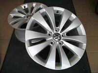 "ON SALE  Volkswagen/Audi ""phoenix"" 17"" Borbet (3) OEM Rims"