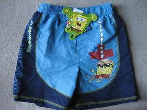 BRAND NEW Spongebob Swim Trunks - Size 5