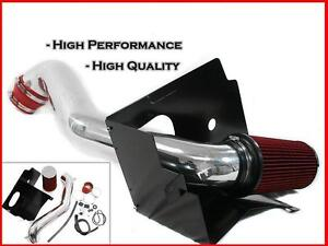 RED-DODGE-RAM-1500-4-7L-V8-HEAT-SHIELD-COLD-AIR-INTAKE-FILTER-2002-2007