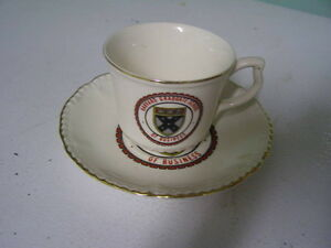 Harvard Graduate School Cup and Saucer