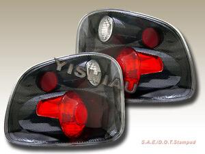 2001 2002 2003 f150 f 150 flareside tail lights carbon ebay. Black Bedroom Furniture Sets. Home Design Ideas