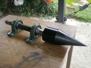 Screw Type Log Splitter Assembly  tractor Shaft PTO 100