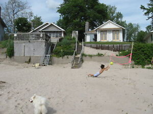 Lakefront cottage with sandy beach Long Beach,Wainfleet ,Ontario