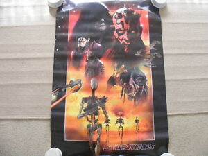 """FS: """"Star Wars Episode 1 (Villains)"""" Collector's Edition Poster"""