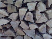 "Fresh cut mixed hardwood firewood for sale - ""Unseasoned"""