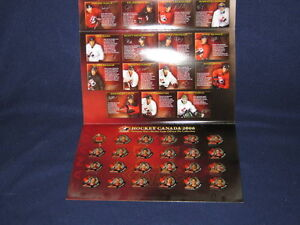 2006 TEAM CANADA HOCKEY TEAM PIN COLLECTION