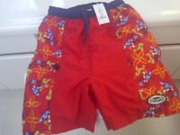 Mickey  Mouse Surf swim suit and Mickey Water Wings