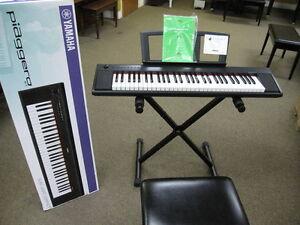 Vente - claviers et pianos numériques YAMAHA chez Piano Héritage