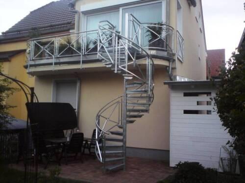Gelander Tor Balkon Treppe Zaun Stahl Edelstahl Metall Schweissen In