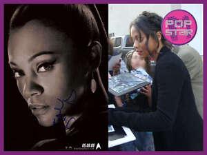 Zoe-Saldana-SIGNED-Star-Trek-2009-8x12-Photo-COA