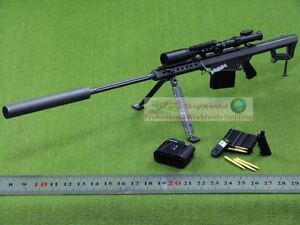 1:6 Scale Action Figure BARRETT M82A1 M107 SILENCER USA Sniper RIFLE M82 M82_12