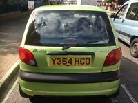 2001 model 6 mount road tax & mot 35.000 mil very economic low millage