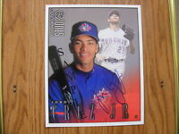 "FS: 1998 Donruss Studio Portrait ""Jose Cruz Jr."" (Jays) Autograp"