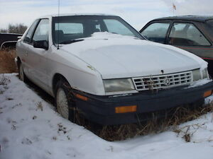 1992 PLYMOUTH SHADOW (DUSTER)