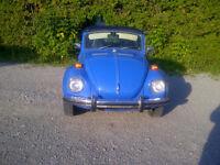 1972 Volkswagen Beetle-Classic Convertible