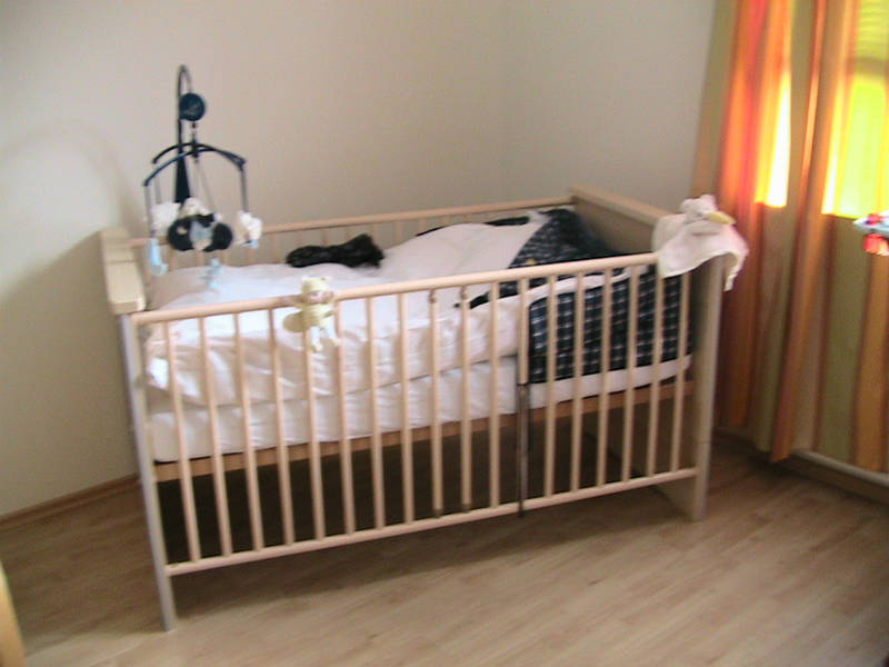 paidi lasse kinderbett babybett gitterbett ohne. Black Bedroom Furniture Sets. Home Design Ideas