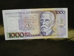 1000 MIL CRUZADOS BILLET BRASIL