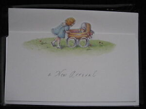 """A NEW ARRIVAL"" - Birth Announcement Cards"