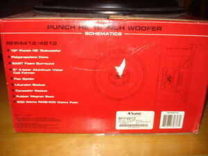 "Rockford Fosgate 12"" Punch Subwoofers West Island Greater Montréal image 4"