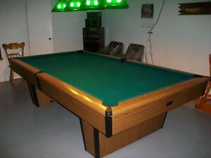 Table de billard 4x9
