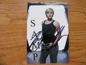 "FS: Katee Sackhoff (Battlestar Galactica) & Cast Members ""Autogr London Ontario image 1"