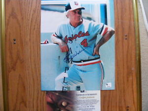 FS: Earl Weaver (Baltimore Orioles) Autographed 8x10 Photo with London Ontario image 1
