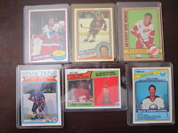 1970's and 80's NHL Cards $4 each EX/NM/MT