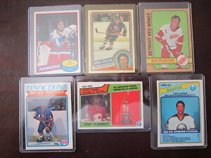 1970's and 80's NHL Cards $4 each EX/NM/MT Windsor Region Ontario image 1