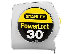 New-Stanley-33-430-Powerlock-30-Foot-by-1-Inch-Measuring-Tape