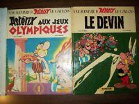 Astérix Aux jeux Olympiques -Le Devin -Pop-Hop Un Livre animé