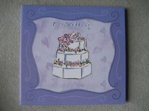 "BRAND NEW ""OUR WEDDING' KEEPSAKE BOOK"