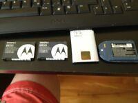 2 Batteries de Cellulaires  Nokia & Lg