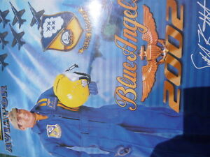 """12"""" action figure blue angel member LCDR scott kartvedt"""