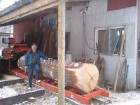 saw mills, lumber