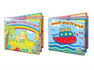 BABY BATH TIME BOOK BATHTIME WASHABLE LEARN TO COUNT BOOK