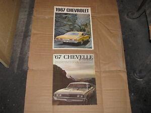 1967 Chevrolet Full Size Dealer Brochure.