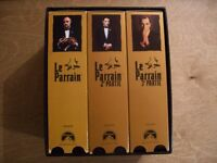 Le Parrain Coffret 1ère parti-2 ième parti-3 ième parti Français