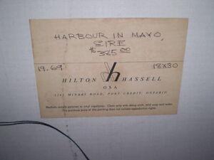 HILTON HASSELL OIL PAINTING Windsor Region Ontario image 3