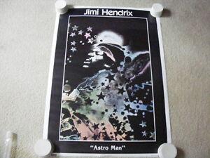 "FS: Jimi Hendrix ""ASTRO MAN"" Poster London Ontario image 1"
