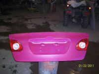 TOYOTA  COROLLA  TRUNK   LID  FROM  2003  TO  2008