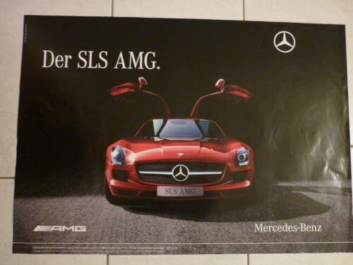 poster mercedes benz sls amg zu verschenken in baden w rttemberg waldshut tiengen zu. Black Bedroom Furniture Sets. Home Design Ideas