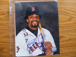 FS: 2002 Tony Clark (Boston Red Sox) 8x10 Autographed Photo
