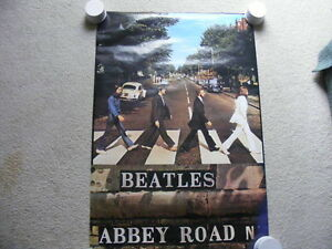 "FS: The Beatles ""Abbey Road"" Poster"