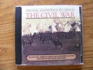 """FS: 1990 """"The Civil War"""" (Original Soundtrack Recording) CD"""
