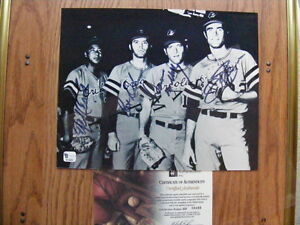 FS: Baltimore Orioles (4) 20-Game Winners Autographed Photo with London Ontario image 1