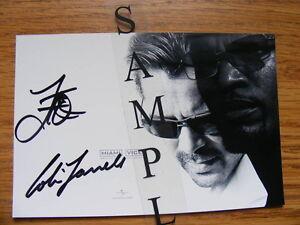 FS: Colin Farrell & Jamie Foxx (Miami Vice) Autographed Promotio