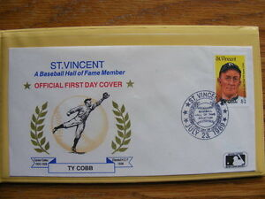 "FS: Major League Baseball ""Hall Of Fame Legends in 1st Day Cover London Ontario image 4"